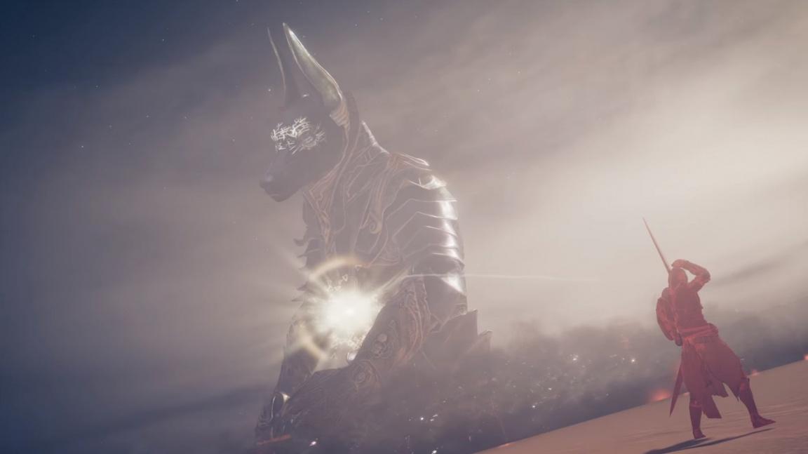 Bůh smrti Anubis představuje prvního z dočasných megabossů v Assassin's Creed Origins