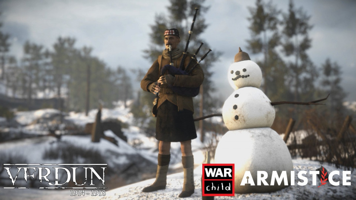 Charitou proti válce. Herní studia se přidala k akci Armistice podporující děti zasažené válkou