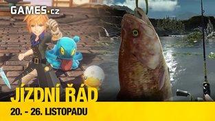 Jízdní řád na další týden - Final Fantasy, jeho svět a ryby