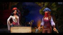 Shadowhand mixuje karetní Solitaire s propracovaným příběhem o pirátkách a aristokratech