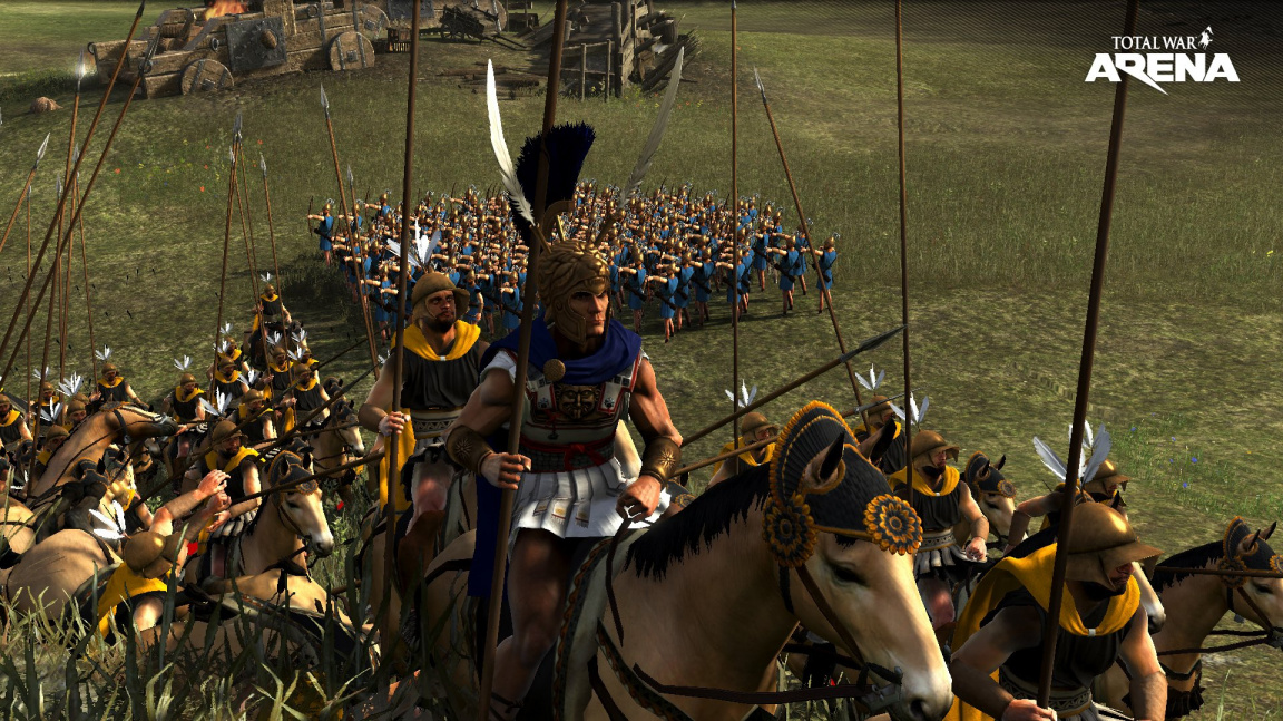 Týmová strategie Total War: Arena zve všechny zájemce do otevřené bety