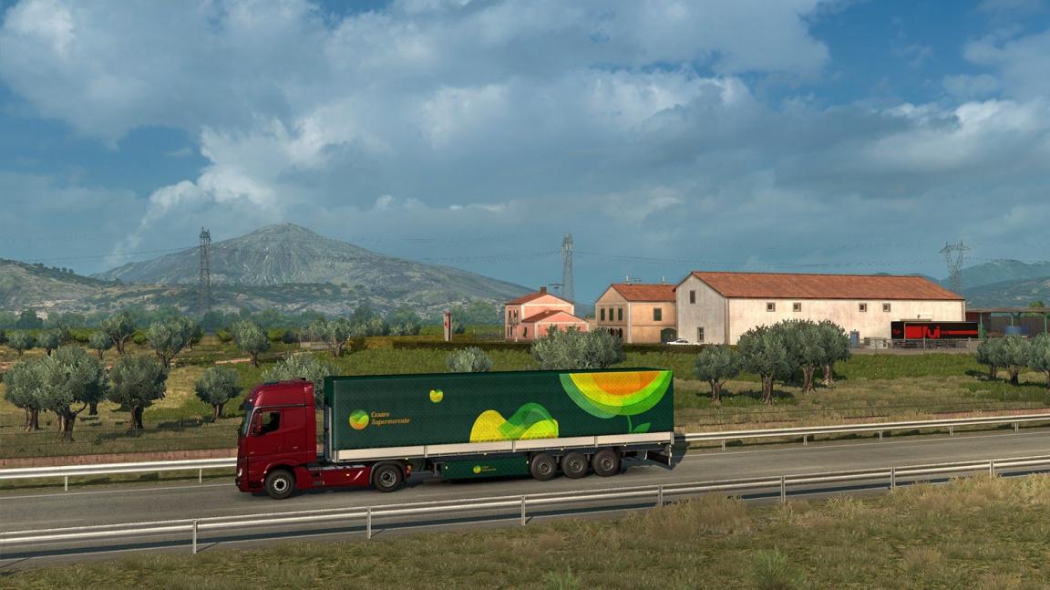 Prosincová dovolená na Sicílii? S datadiskem pro Euro Truck Simulator 2 žádný problém