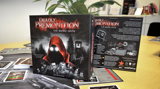 deadly premonition the board game