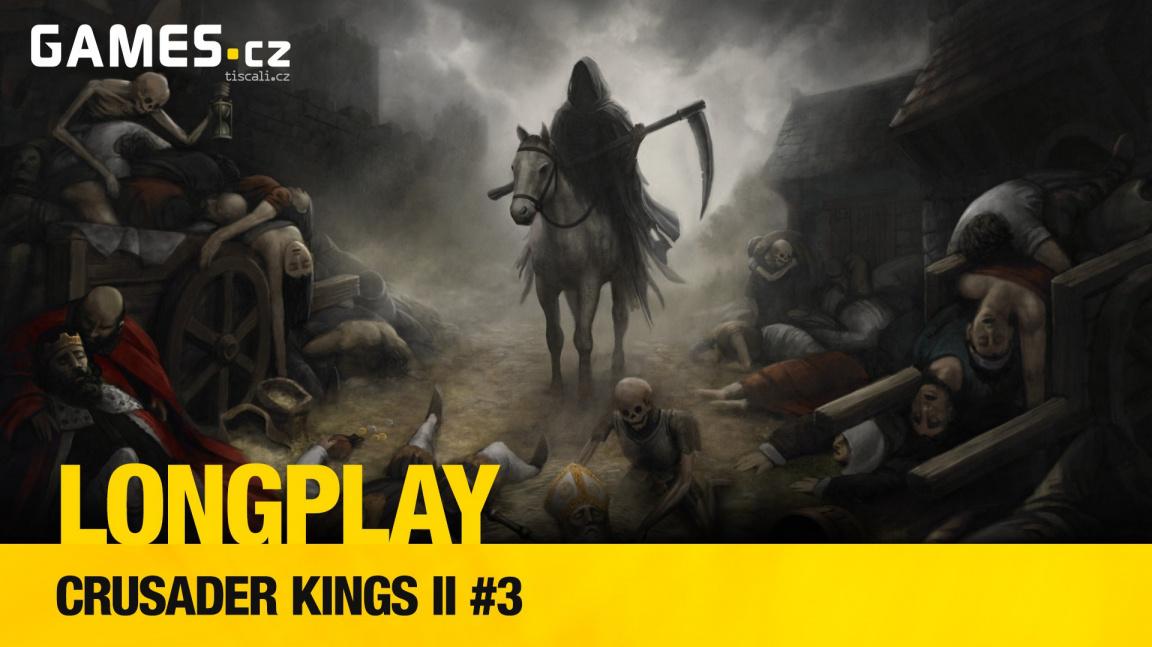 LongPlay – Crusader Kings II #3: Čeněk chce být králem!