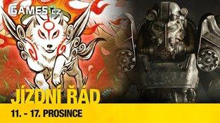 Jízdní řád na další týden - Virtuální Fallout, Final Fantasy a návrat Okami
