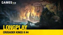 LongPlay – Crusader Kings II #4: čas dobýt Moravu