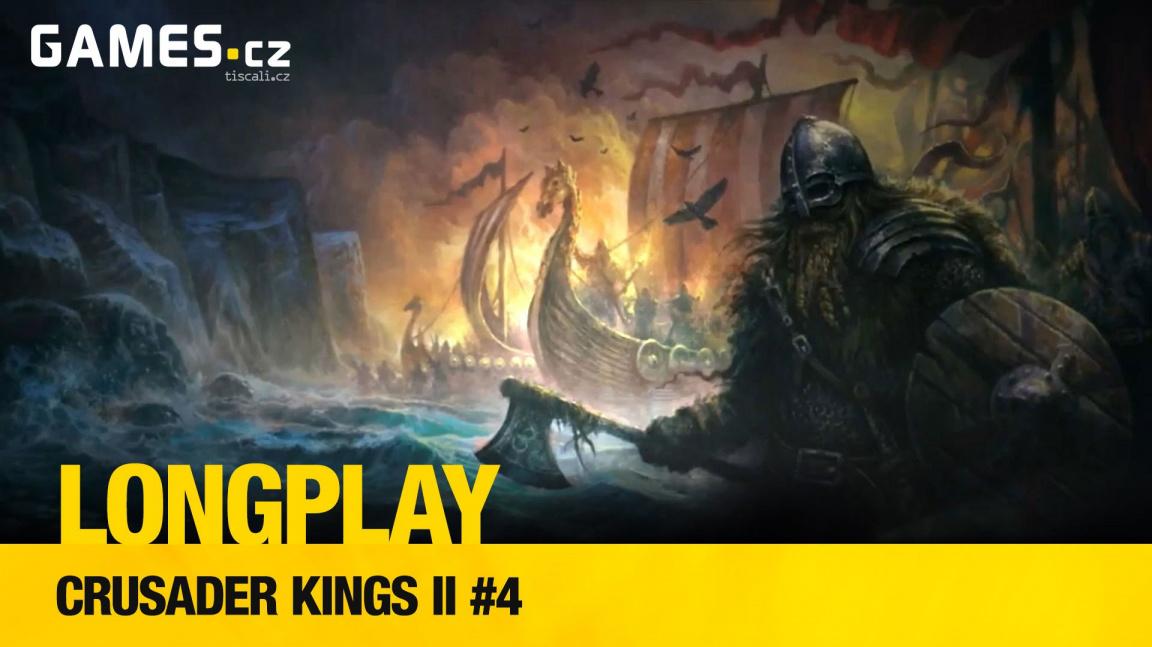 LongPlay – Crusader Kings II #4: čas dobýt Moravu