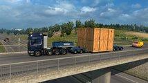 Euro Truck Simulator 2 přidává tak obří náklady, že na ně potřebujete pomocný doprovod