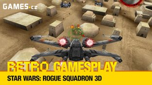 Retro GamesPlay – pilotujeme stíhačky ve Star Wars: Rogue Squadron 3D