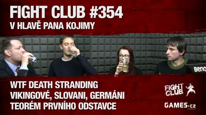 Sledujte vysílání Fight Club #354