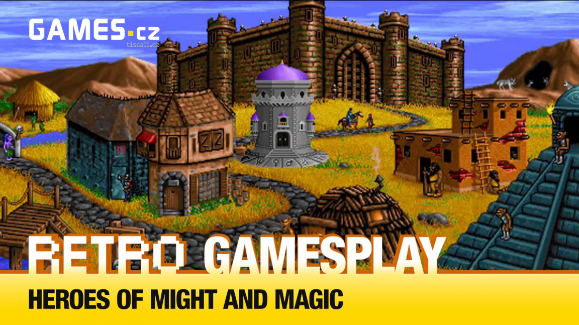 Retro GamesPlay – hrajeme legendární strategii Heroes of Might and Magic