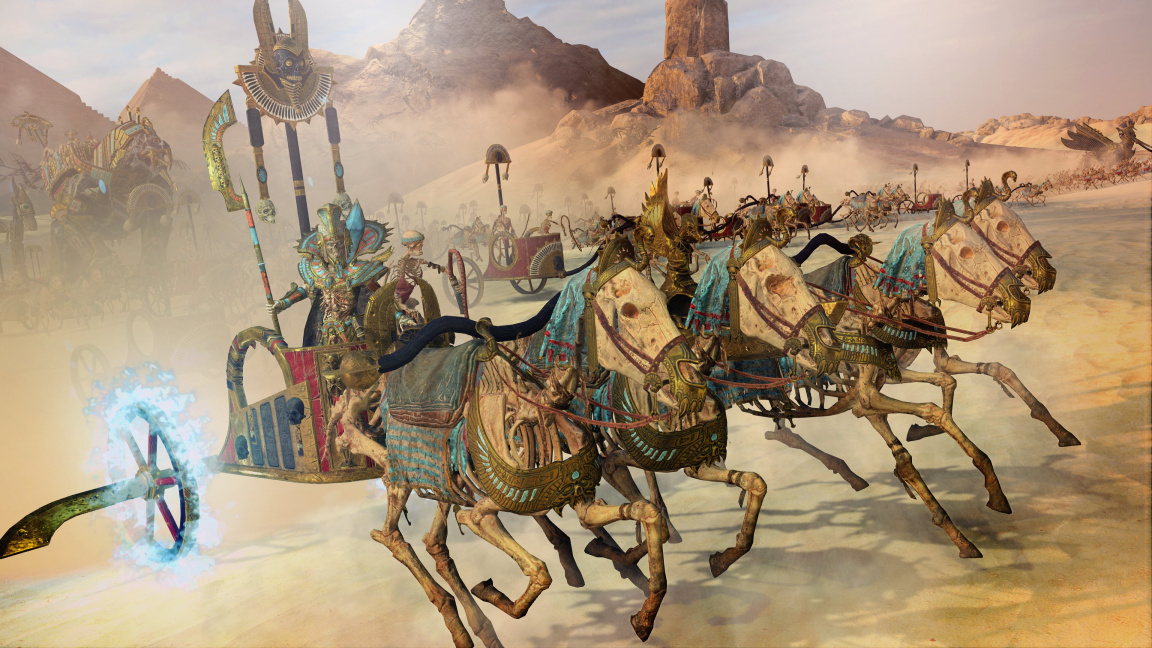 Záběry z Rise of the Tomb Kings ukazují frakci, jakou Total War ještě nezažil