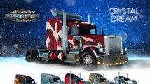 Pomozte Santovi s rozvozem dárků v obou Truck Simulatorech a budete sami odměněni