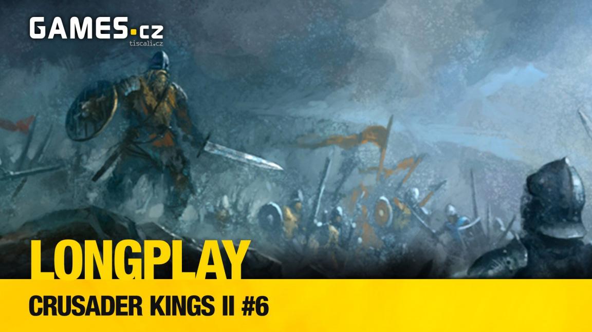 LongPlay – Crusader Kings II #6: čekání na smrt