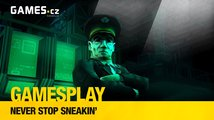 GamesPlay – hrajeme parodii na Metal Gear Solid, stealth akci Never Stop Sneakin'