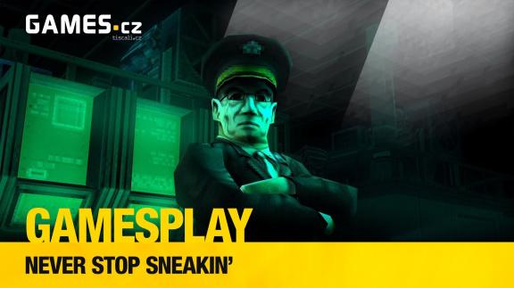 GamesPlay – hrajeme parodii na Metal Gear Solid, stealth akci Never Stop Sneakin'