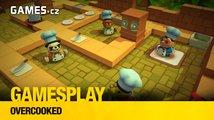 GamesPlay: hrajeme ve čtyřech kooperativní Overcooked