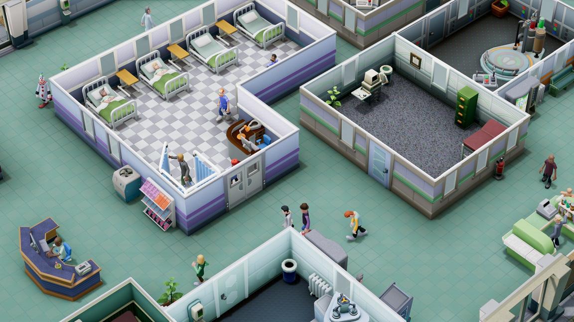 Pacienti i doktoři budou mít v Two Point Hospital vlastní osobnost