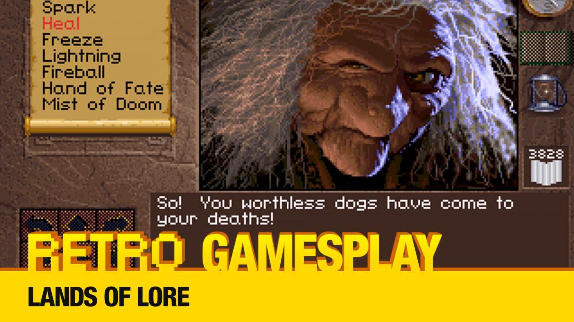 Retro GamesPlay – hrajeme dungeon Lands of Lore
