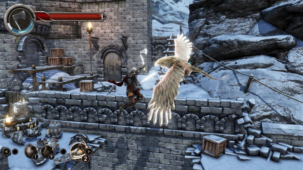 Zkamenělý rytíř z Castle of Heart musí pořád zabíjet, aby sám nezemřel