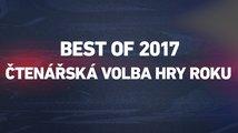 Best of 2017: Hlasujte a vyberte nejlepší hry roku 2017