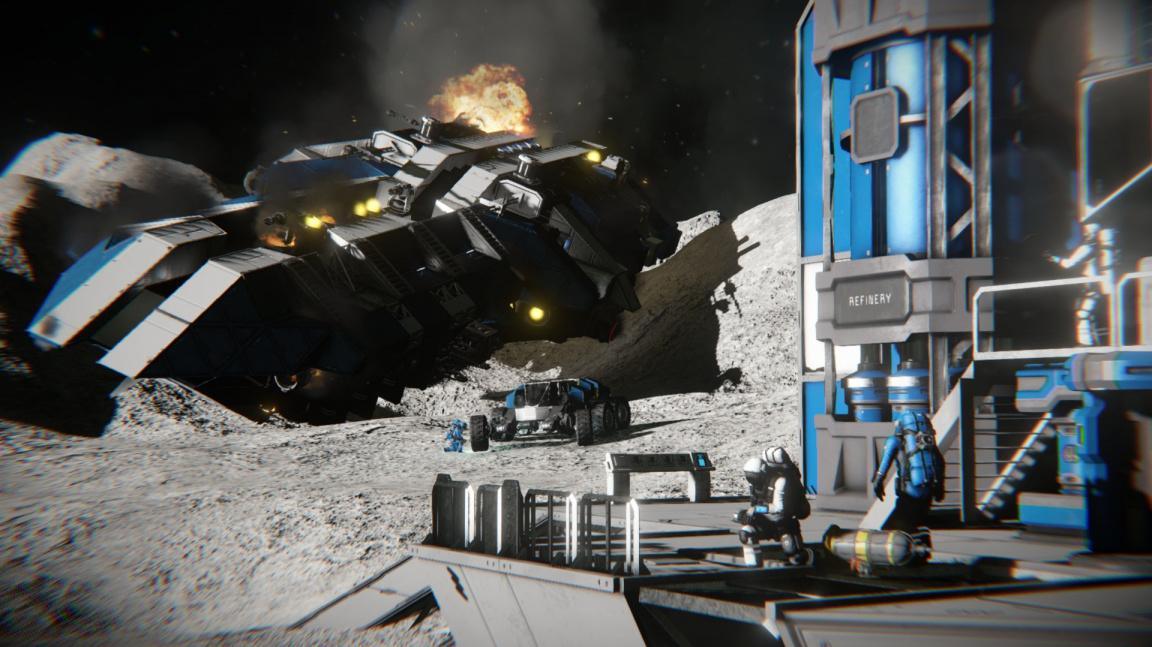 Space Engineers se s každým dalším updatem přibližuje realitě