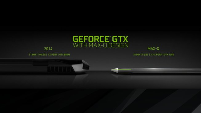 Nvidia Max-Q srovnání