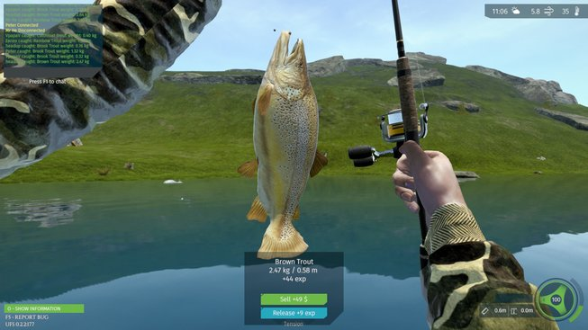 Ultimate Fishing Simulator - dojmy z hraní