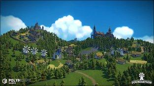 Ve strategii Foundation budujete středověké vesnice bez omezující sítě