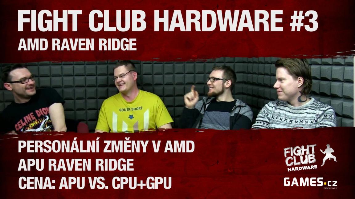 Fight Club Hardware #3: APU Raven Ridge