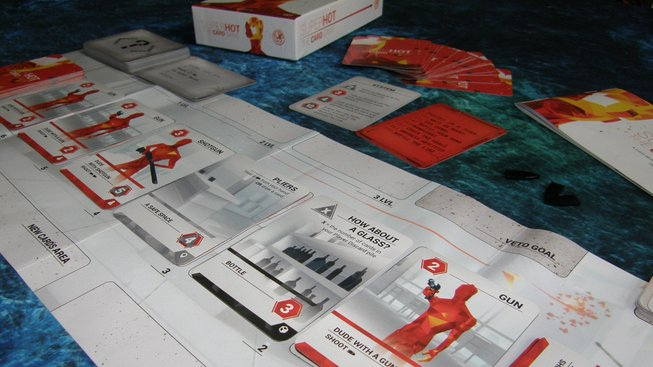 Superhot Card Game