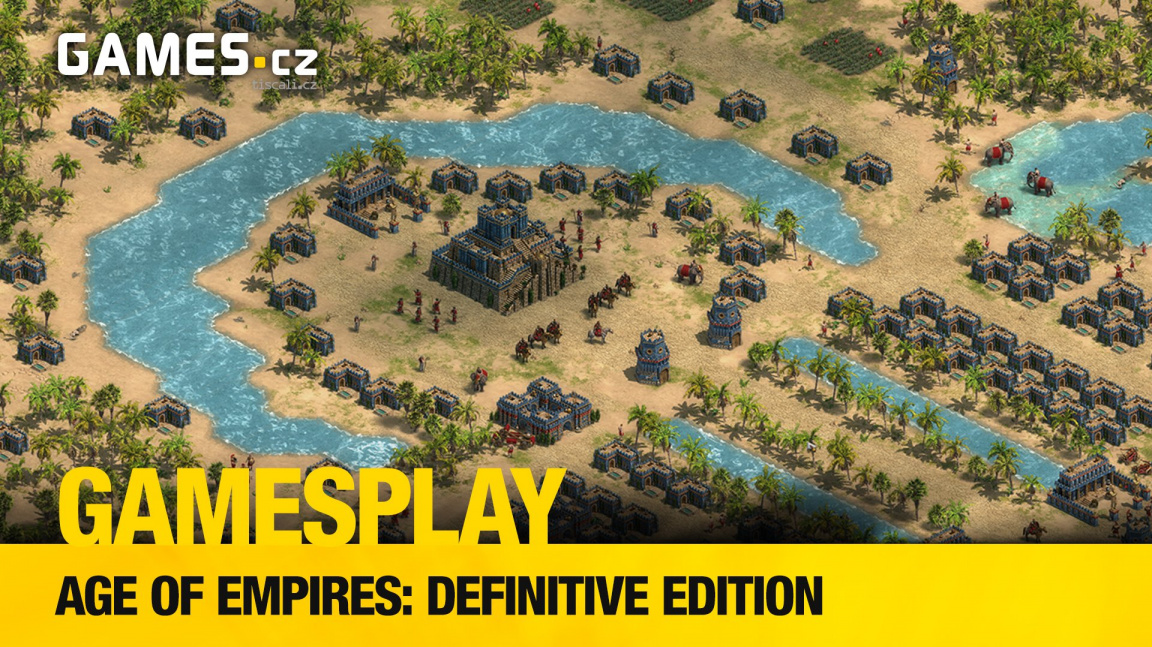 GamesPlay - hrajeme remaster Age of Empires: Definitive Edition