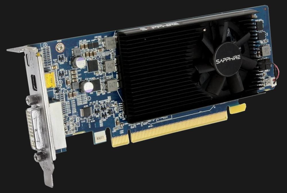 Sapphire AMD Radeon HD 7750 LP