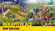 Rekapitulace: série Civilization