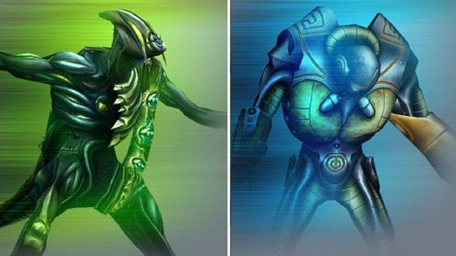Concept art mimozemšťanů pro X-ISLE