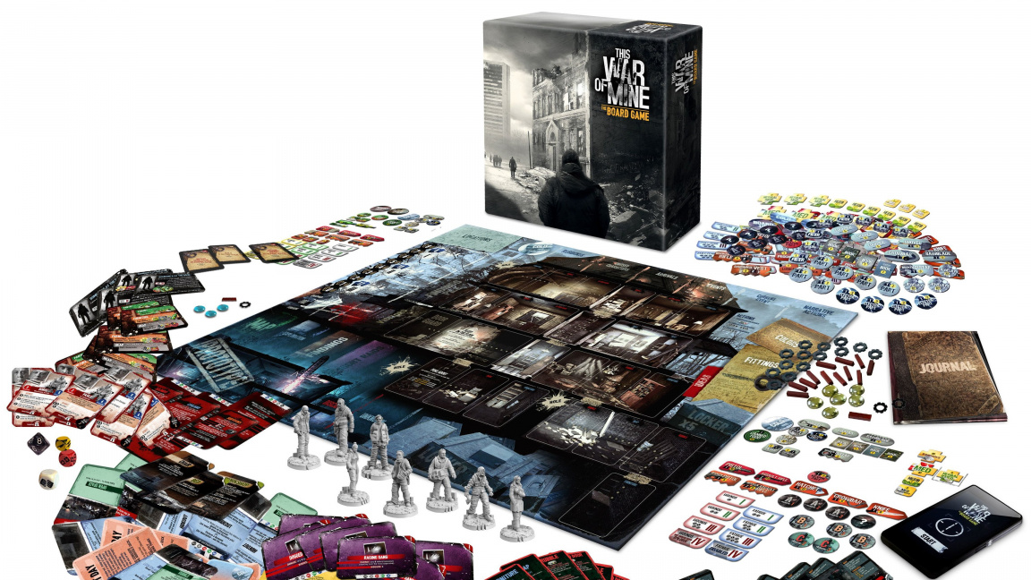 This War of Mine – recenze stolní adaptace