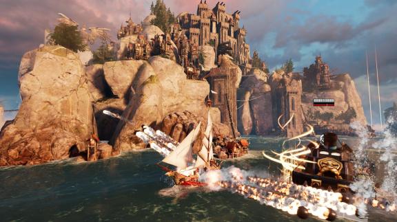 Maelstrom nabídne námořní bitvy lidí, trpaslíků, orků a obřích monster