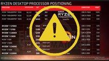 Odhalení procesorů Ryzen 2000? Kdepak, pravděpodobně jde o podvrh