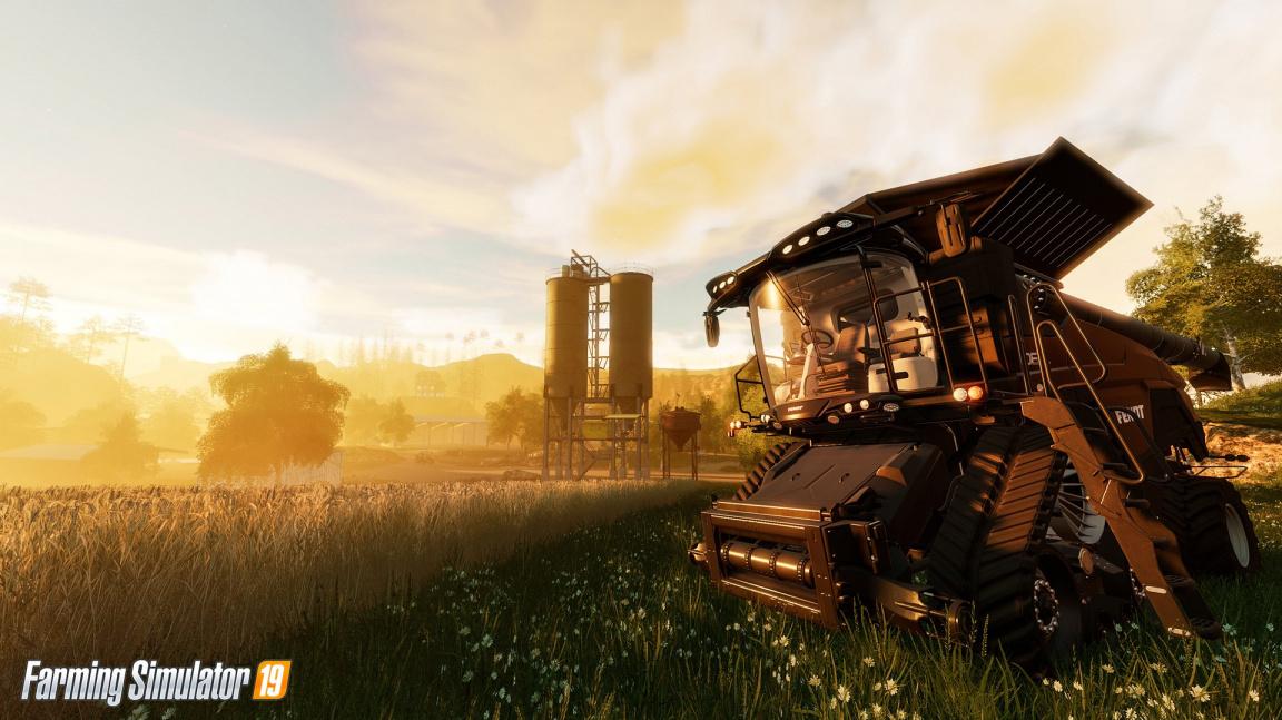 Farming Simulator 19 má novou grafiku a značku John Deere – dojmy z E3