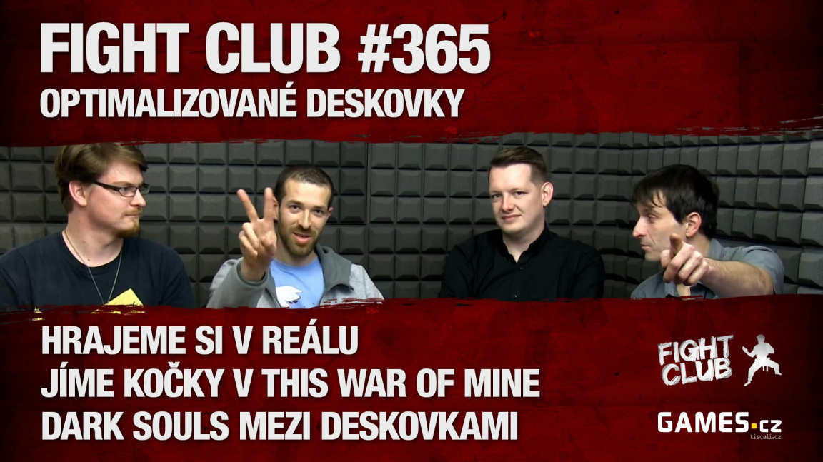 Fight Club #365 - Optimalizované deskovky