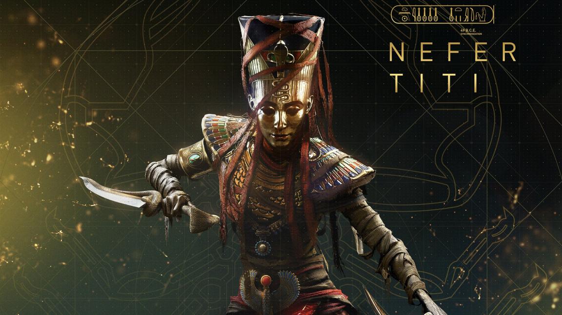 Bayekův výlet do podsvětí v Curse of the Pharaohs je tady
