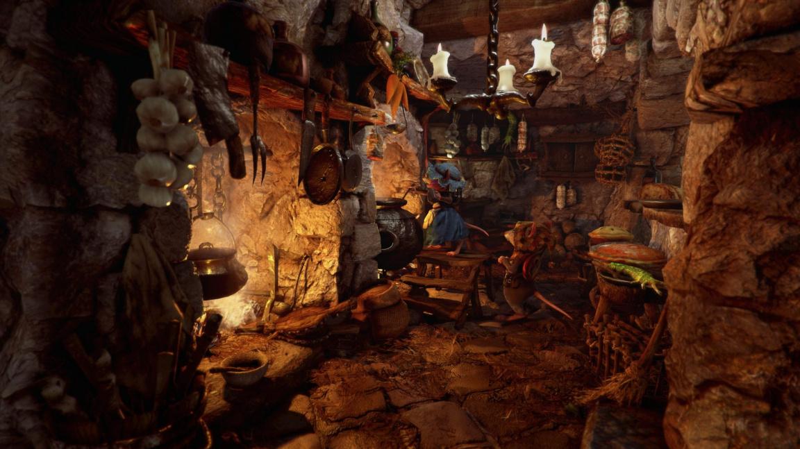 Po pěti letech vývoje vychází myší akční RPG Ghost of a Tale