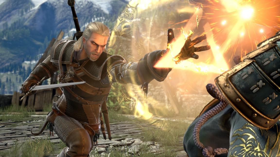 Geralt v Soulcaliburu aneb historie a příklady hostů v bojovkách