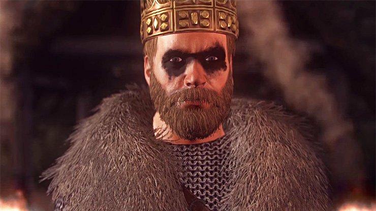 Vikingy z Northumbrie vede v Thrones of Britannia bývalý otrok