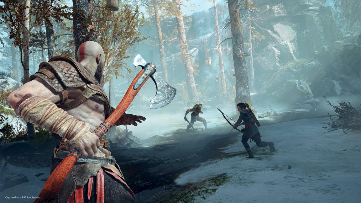 God of War nabídne čtyři stupně obtížnosti a dovolí vypnout interface