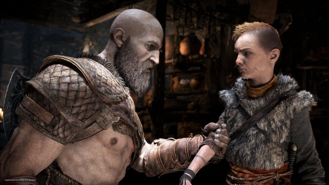 V loňském God of War málem chyběl Kratos a jeho syn