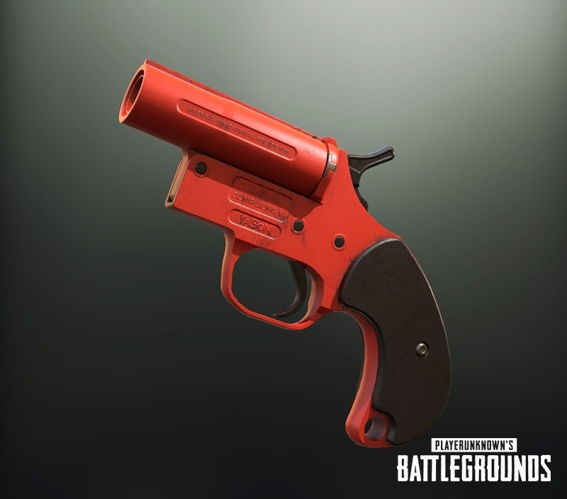 PUBG pistolka