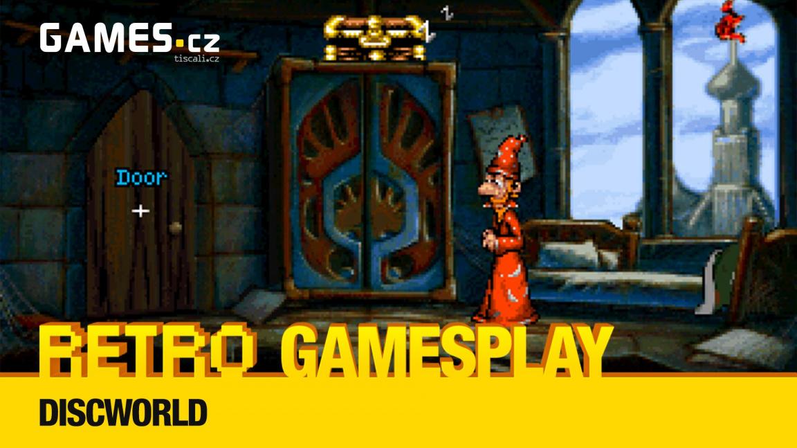 Retro GamesPlay – hrajeme adventuru Discworld