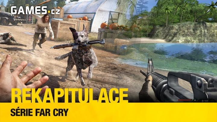 Rekapitulace – série Far Cry a její věže, psychopati, robosauři a mamuti