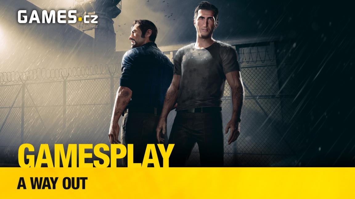 GamesPlay – hrajeme kooperaci A Way Out